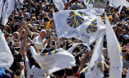 カトリック・アクション創始150年、教皇との集い