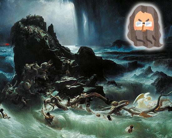 フランシス・ダンビー「大洪水」