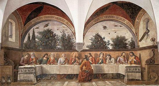 最後の晩餐-ギルランダイオ