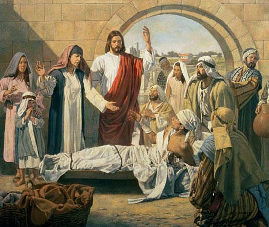 ナインのやもめの息子の復活